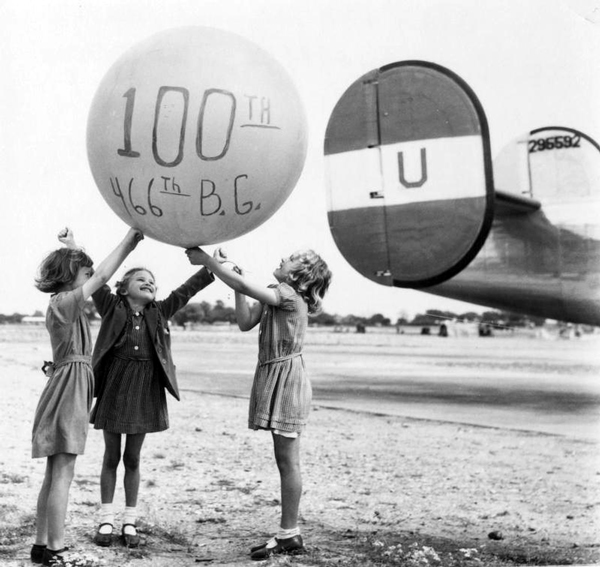 100 Mission Party, 466th Bomb Group