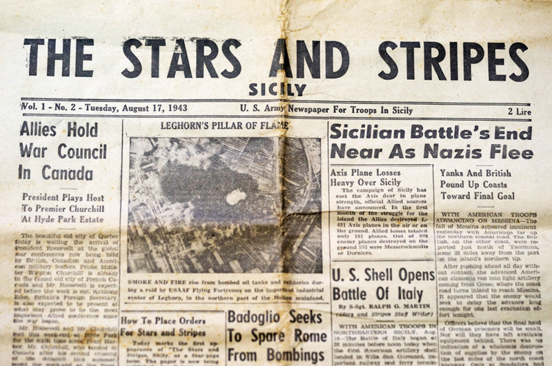 Stars and Stripes Newspaper